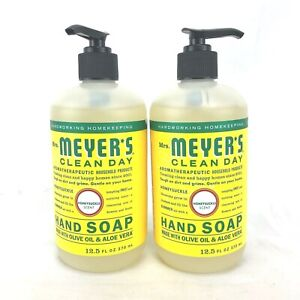 Mrs Meyers Hand Soap Clean Day Honeysuckle Scent 12.5 oz Lot of 2