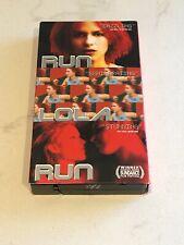Run Lola Run (Vhs, 1999, English Subtitled Version Original English)