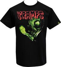 MENS BLACK T-SHIRT THE CRAMPS HUMAN FLY VINCENT PRICE PSYCHOBILLY HORROR S-5XL