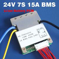 7S 24V 15A BMS Li-ion Cell Battery ANN Balanced bike E-bike UK seller UK stock