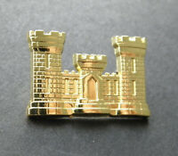 ARMY ENGINEER ENGINEERS LAPEL PIN BADGE 1.1 INCHES