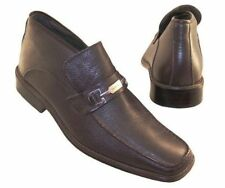New PIERRE CARDIN Men Brn Leather Ankle Pull On Dress Comfort Boot Shoe Sz 9.5 M