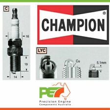 6X New *Champion* Spark Plug For Jeep Wrangler Tj 4.0L 242 Cu.In Mx..