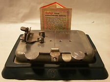 Antique IM? or MI?  8 &16mm AUTO-SPLICER 1950'S-60'S + KODACROME MOVIE BROUCHURE