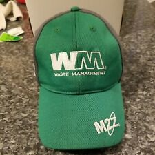 Waste Management M2Z Lifchgr Baseball Hat Adjustable Snapback Green Gray