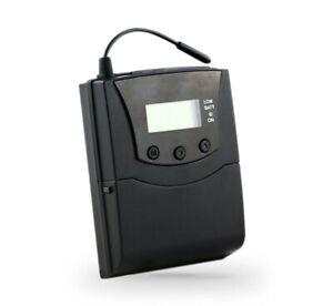 Parrot Portable 3 Channel Battery Powered BeltPack Silent Disco Transmitter