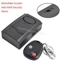 Compact Motorcycle Motorbike Scooter Anti-theft Security Alarm Vibration Sensor