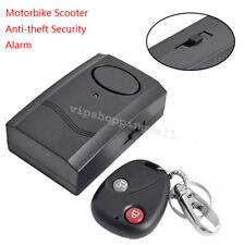 Compacto Motocicleta Moto Scooter de alarma de seguridad antirrobo sensor de vibración