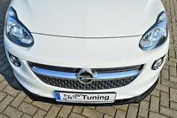 Sonderaktion Spoilerschwert Frontspoiler Cuplippe aus ABS für Opel ADAM mit ABE