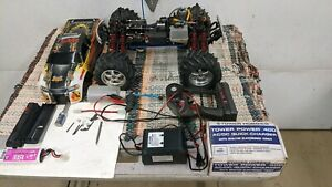 T-Maxx TRX2.5 Gas Powered RC 4x4 Monster Truck W/Accessories - For Parts
