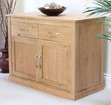 Mobel solid oak furniture sideboard small living dining room storage cabinet