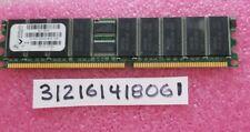 1GB DDR DDR1 PC2700R DDR-333 2700R 333MHZ 184PIN SINGLE RANK  RDIMM 128X4 1RX4