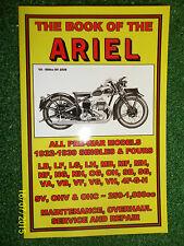 ARIEL LB LF LG LH MB MF MH NF NG NH OG OH SB SG VA VB VF VG VH 4F MANUAL 1932-39