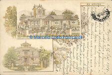 COLOMBIA PIONEER BOGOTA COBURGO EL OTOÑO 1901