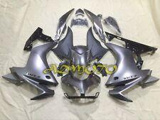 ABS Plastic Fairing Panel Kit For Honda CBR500R 2013 2014 2015 2016 Gray