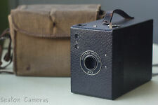 Kodak portrait Hawkeye #2 120 Box Camera-Working