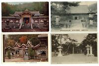 LOT OF 4 ~ Japan ~ Japanese Temple and Shrine ~ postcards sku193