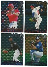 1998 Donruss Gold & Silver Press Proof 4 card lot Rays Phillies Braves Mariners