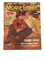 MOVIE STORY MAGAZINE - December, 1941 - GRETA GARBO