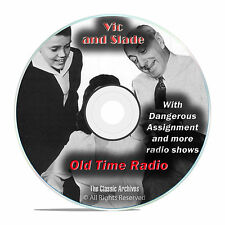 Vic and Slade, 942 Classic Old Time Radio Shows Soap Drama OTR mp3 DVD G29