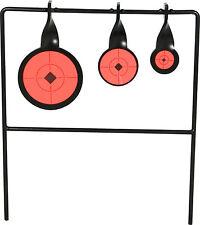 TRIPLE Metallo Spinner AIR FUCILE CARABINA Target - 90, 55 e 40MM Spinning Bersagli