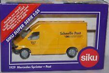 SIKU-MERCEDES SPRINTER - Schnelle Post/EM -GELB (1:55) OVP -Auto  Transporter