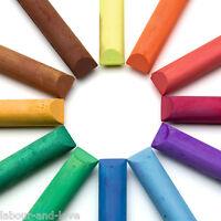 Rainbow 12 Colour SchoolChalk For Blackboard Very Fine