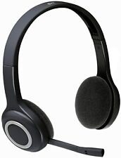 Logitech H600 Over-The-Head Wireless Computer Headset 981-000341 Black / White