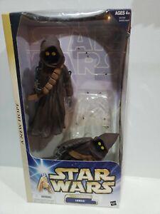 "Star Wars A New Hope 12"" Tatooine Scavengers Jawas Large hasbro loose"