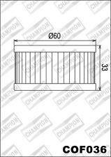 COF036 Filtro De Aceite CHAMPION SuzukiGZ250 K4-K9,L0 Marauder2502007 08 2009