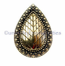 SAMANTHA WILLS BB New Metallic Armour Bohemian Teardrop Bardot Ring Tag Pouch