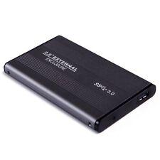 CASE External Backup Hard Drive 500GB USB 3 2.0 Enclosure 2.5 Portable HDD Sata