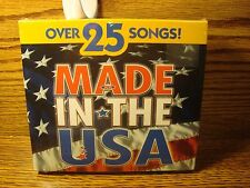 Made in the USA #2 CDs of USA Themes 25+ songs * Enlarge Photos for List * NEW
