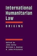 International Humanitarian Law: Origins by Brill (Hardback, 2003)