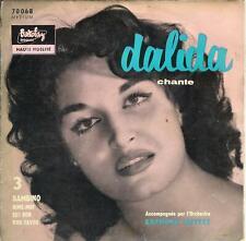 """DALIDA """" bambino """" 3 ème EP Barclay 70068 - pochette RARE"""