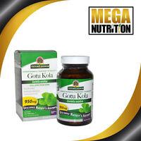 Nature's Answer Gotu Kola 950mg 90 Vegetarian Capsules   Anti-inflammatory