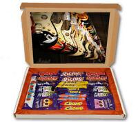 Guitar Rack Gibson Fender 24 Bar Cadbury Chocolate Hamper Personalised Gift Box