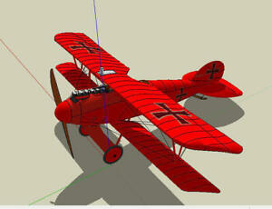 Doppeldecker Albatros DV, Slowflyer / Parkflyer
