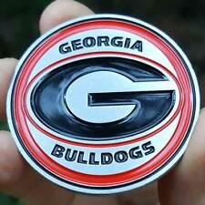 PREMIUM NCAA Georgia Bulldogs Poker Card Guard Chip Protector Golf Marker Coin