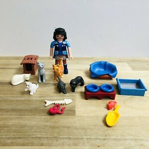 Playmobil Cats Cattery Figures & Owner Animals Pets Spares For Vets Family House