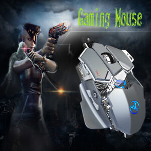 Gaming Model Wired Mouse 9-Key High Performance Glorious Glossy Black & Gray NEW