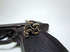 Keyring FROG ( FROGMAN USSR). Handmade.Limited edition. Brass.