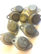 AL102 job lot, 9x Transistor Germanium PNP, CASE: TO3 DATED 1981, MAKE: SGS ATES
