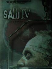 SAW IV (2007) Tobin Bell Scott Patterson Betsy Russell Costas Mandylor SEALED
