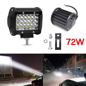 "4"" 200W LED Work Light SPOT Lights For Truck Off Road Tractor 12V/24V Square"