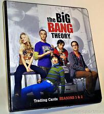 BIG BANG THEORY SEASON 1 & 2 CRYPTOZOIC MINI-MASTER SET WITH BINDER+