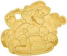 Mario Kart Series 1 Gold Mario Collectible Enamel Pin [Loose]