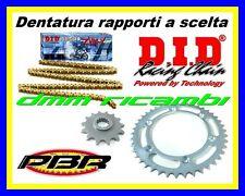 Kit Trasmissione HONDA CBR 1000 RR 09 catena corona pignone PBR DID ZVMX 2009