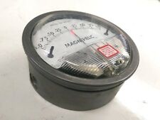 Dwyer 2010 Differential Pressure Gauge 1-0-1 In. of Water, Press: 15psi Max