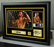 "Nate Diaz UFC canvas tribute signed Limited Edition ""Great Gift / Souvenir"""